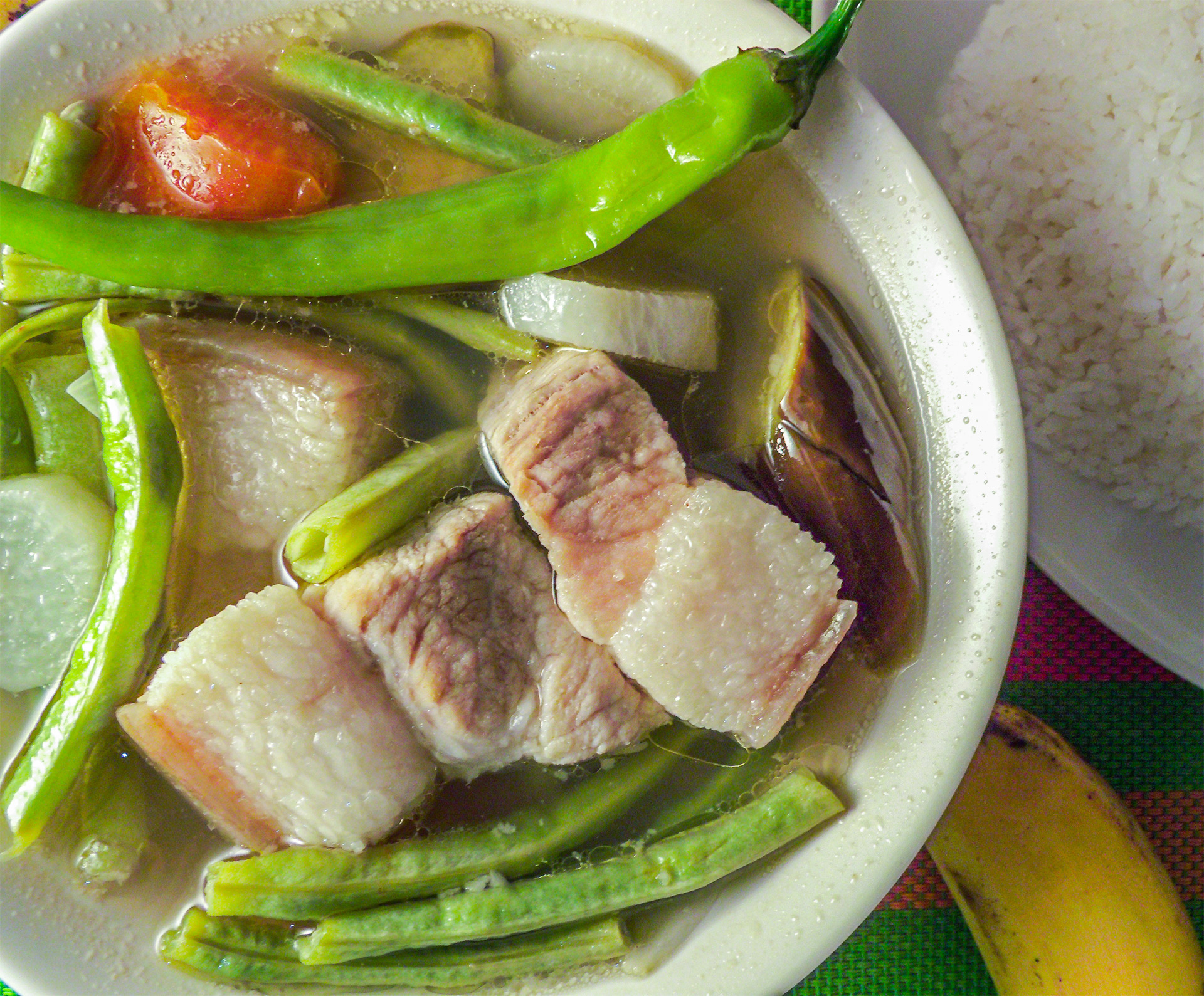 Pork Sinigang Recipe Uses Tamarind Sinigang Mix